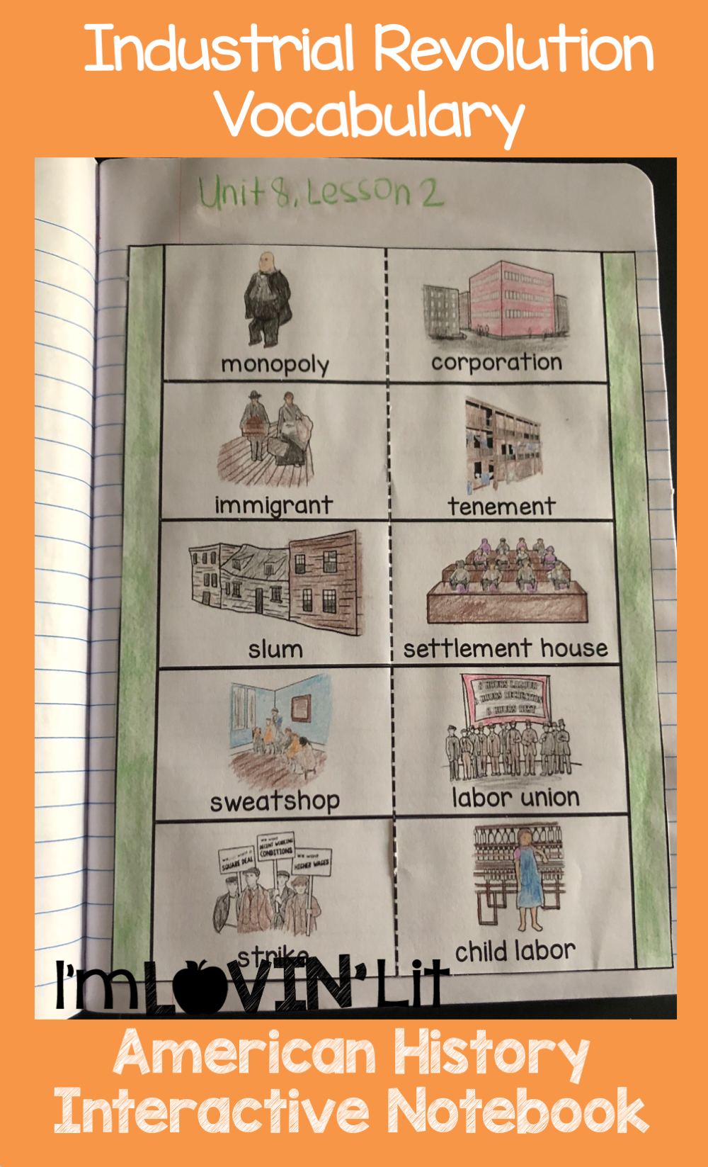 Industrial Revolution Interactive Notebook Industrial Revolution