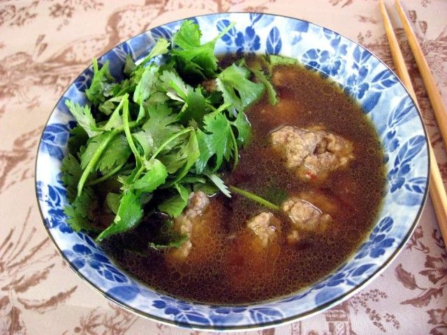 Recipe: Amazing Asian Soy Sauce Soup with Minced Pork ...