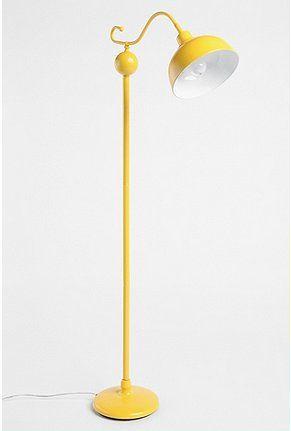 Stella Floor Lamp In 2019 Floor Lamp Yellow Floor Lamps Unique Lamps