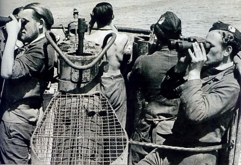 U-86 on look-out.