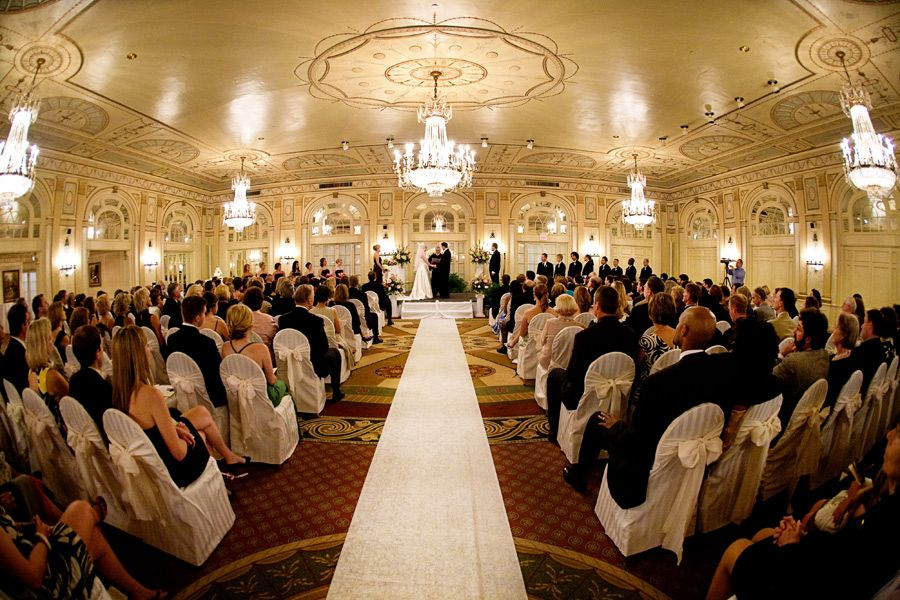 crystal ballroom wedding ceremony brown hotel louisville ky