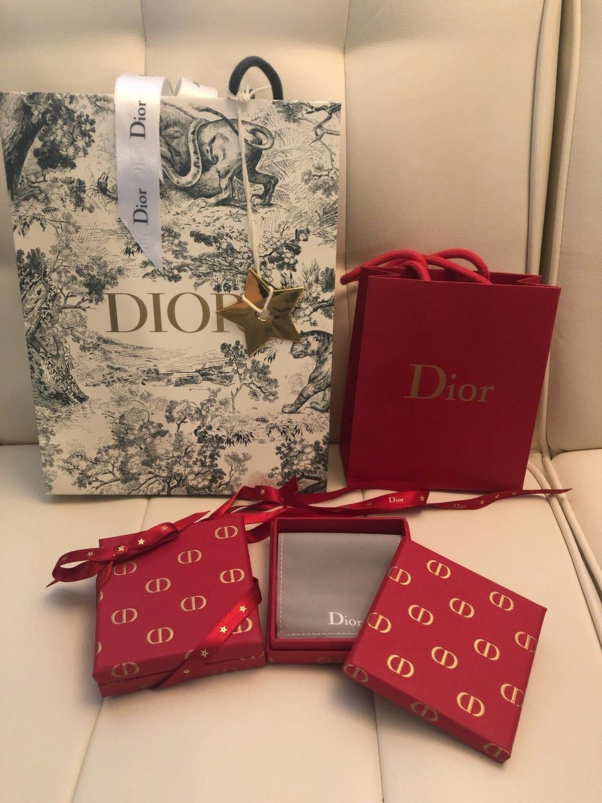Dior Christmas Box 2020 Dior Gift Bags & Box on Mercari in 2020 | Branded gift bags, Gifts