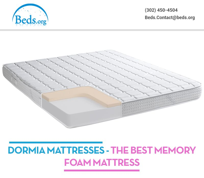Let You Know About The Best Memory Foam Mattresses Dormia Mattress Offer Extra Support And Comfort Through Features Like Customizable