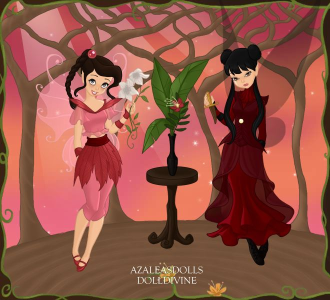 Pixie Scene Maker Ty Lee And Mai By Moonprincess22 Deviantart Com