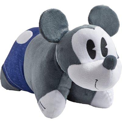 Pillowpets Disney Denim Mickey Mouse Throw Pillow Animal Pillows Animal Plush Toys Mickey Mouse