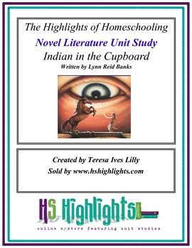 The Indian In The Cupboard Novel Literature Unit Study And Lapbook Literature Unit Studies Indian In The Cupboard Literature Unit