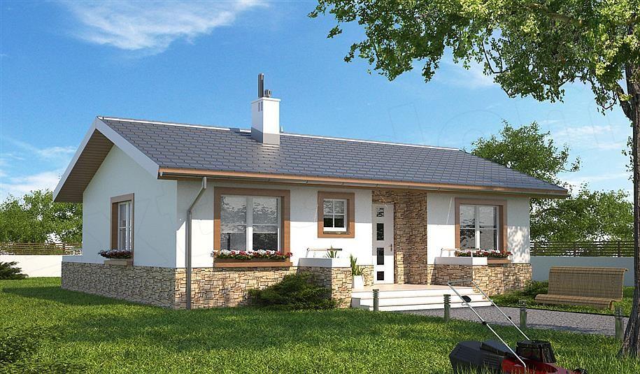 renovat.ro: O frumoasa casa fara etaj pentru o familie de 2-3 ...