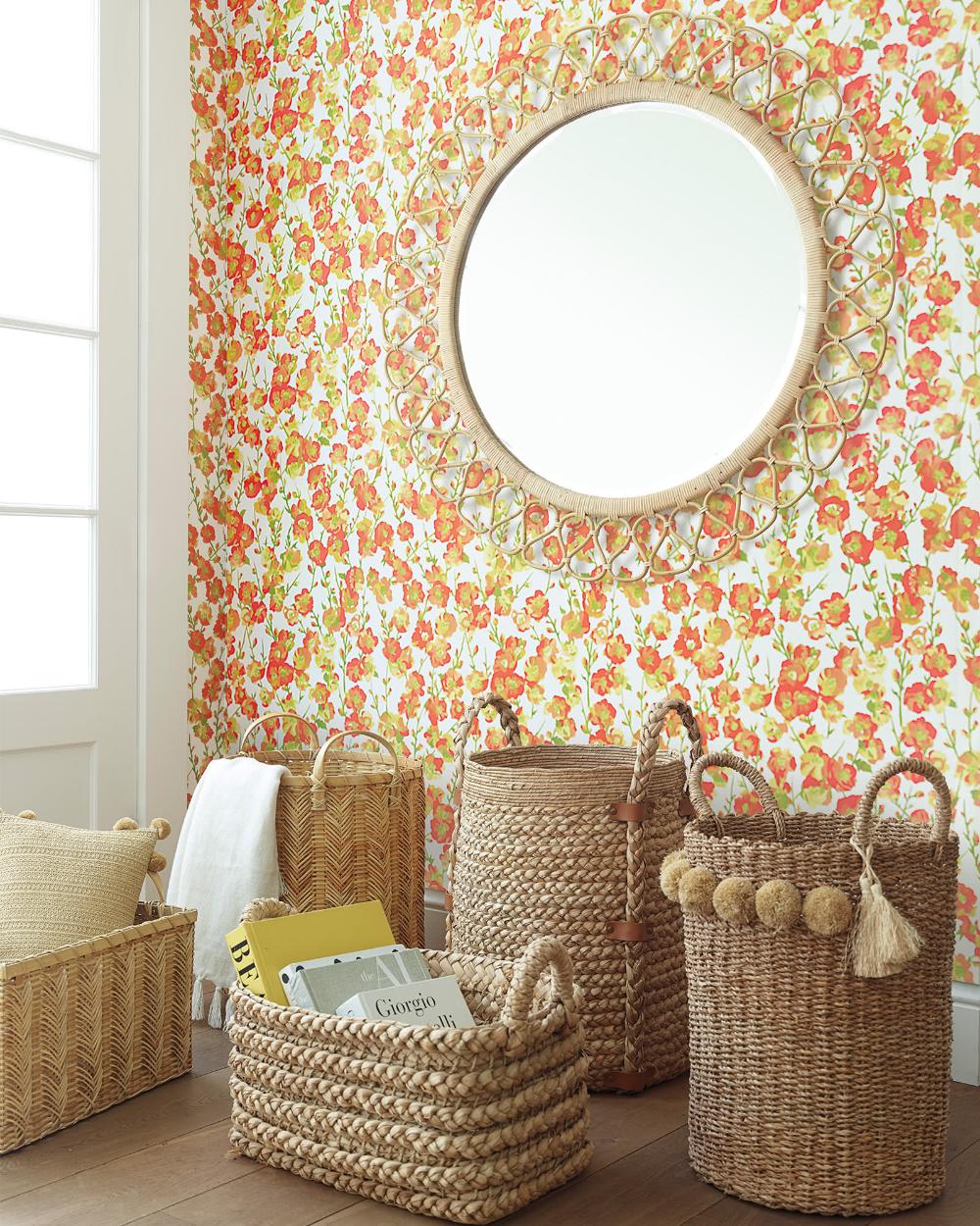 Fairfax Wallpaper In 2020 Home Improvement Wallpaper Diy Closet