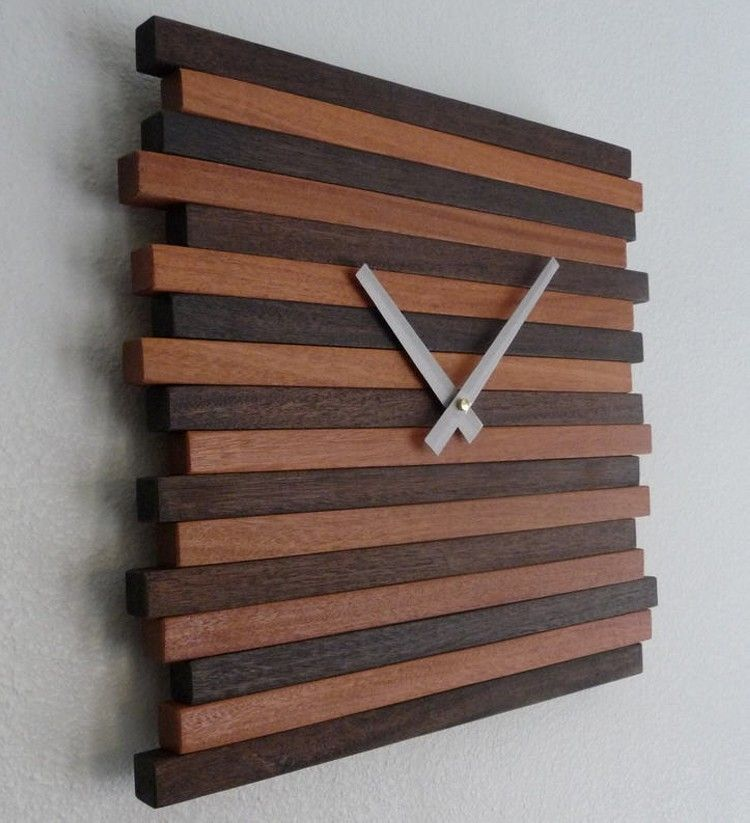 Reclaimed Wood Wall Clock - Reclaimed Wood Wall Clock Wooden Clocks Handmade Pinterest