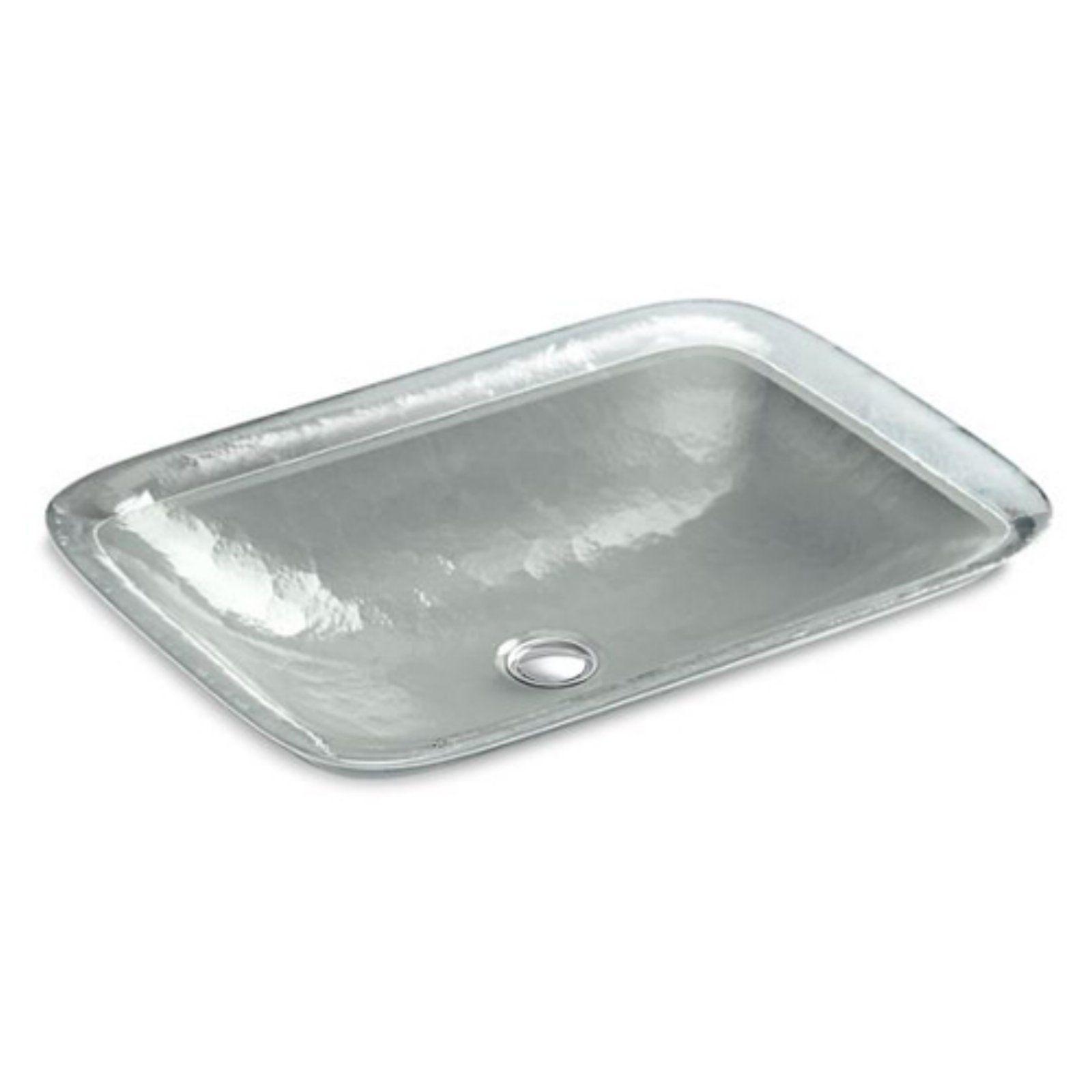 Kohler Inia K2773 Wading Pool Glass Vessel Bathroom Sink Opaque