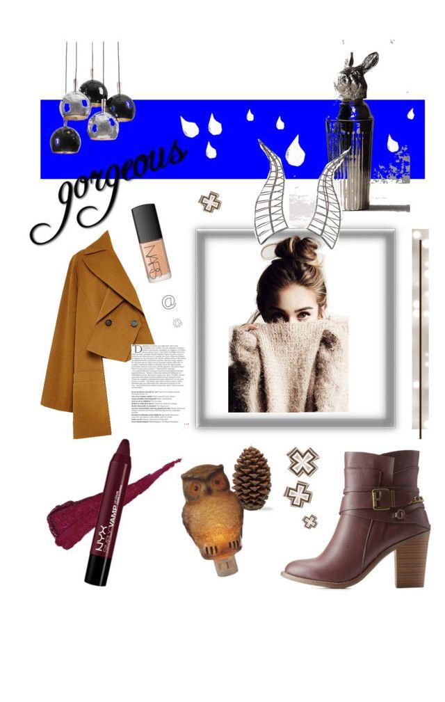 """Gosmo"" by francesca-fabbri-1 on Polyvore featuring moda, Rosetta Getty, Charlotte Russe, Balmain, NARS Cosmetics, Regina-Andrew Design, Dot & Bo e Disney"