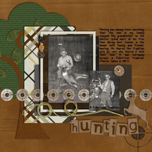 Image Detail For Hunting Digital Scrapbooking Gallery Upload