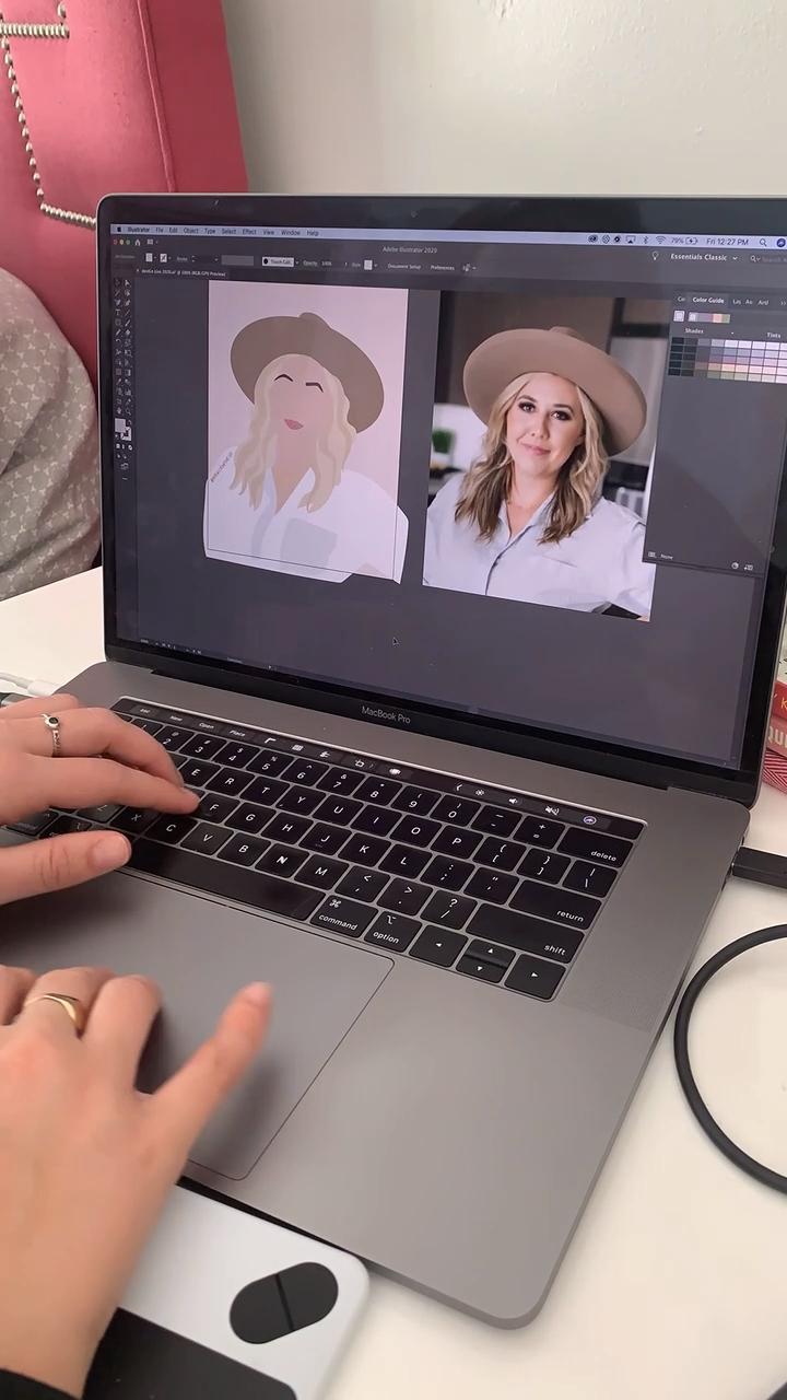 Digital Minimal Portrait of girlboss Chanel Sonego of Level Community Networking Group  #flatillustration #flatportrait #design #designer #digitalartwork #digitalartist #digitalart #digitalportrait #minimal #minimalportrait #minimalart #girlboss #entrepreneur #entrepreneurship