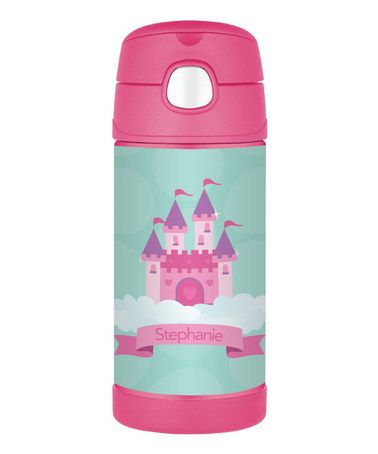 Loving this Castle in the Sky Personalized Thermos on #zulily! #zulilyfinds
