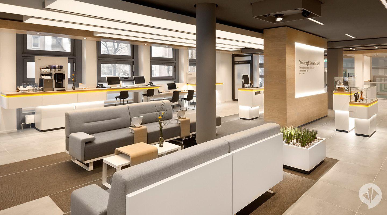 Commerzbank Flagship Branch Concept Bank Interior Design Retail