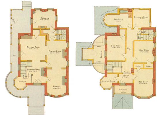 victorian Floor Plans – Victorian Home Floor Plan