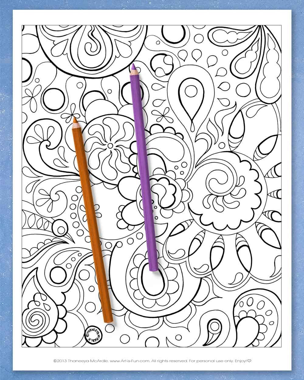 Abstract Coloring Pages Printable E Book Of Groovy Abstract Designs For You To Color Art Is Fun Abstract Coloring Pages Coloring Pages Printable Coloring Book