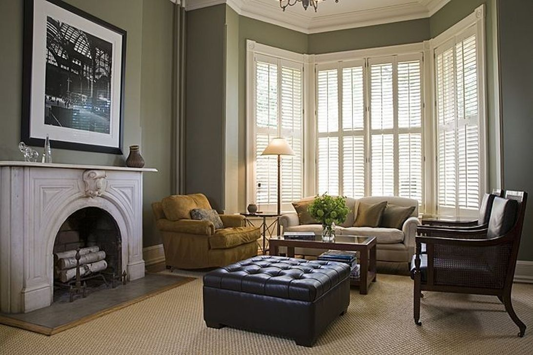 Inspiring Victorian Bay Window Seat Ideas37 Bay Window Living Room Victorian House Interiors Victorian Living Room