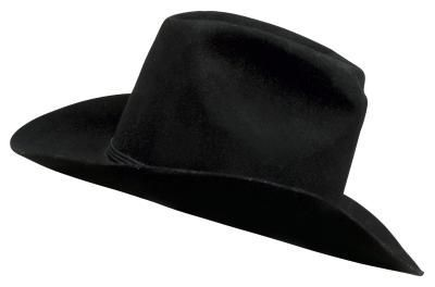 9083cd4af9517 DIY: Grosgrain Ribbon Hat Band   Crafty Lady   Cowboy hat crafts ...
