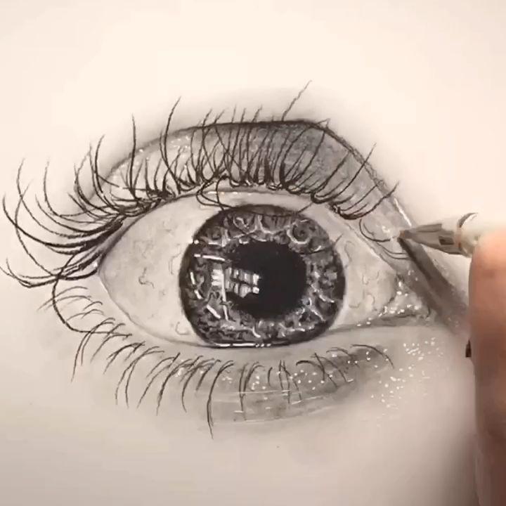 Eye Time Lapse By Shannon Perrie Perriewinkles Video Eye Drawing Pencil Art Drawings Eye Art