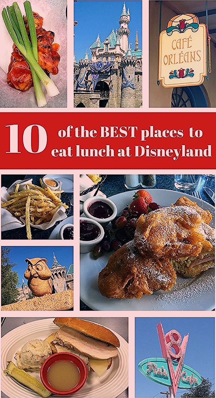Photo of 10 of the BEST Places to Eat Lunch at Disneyland – Thrifty and Thriving