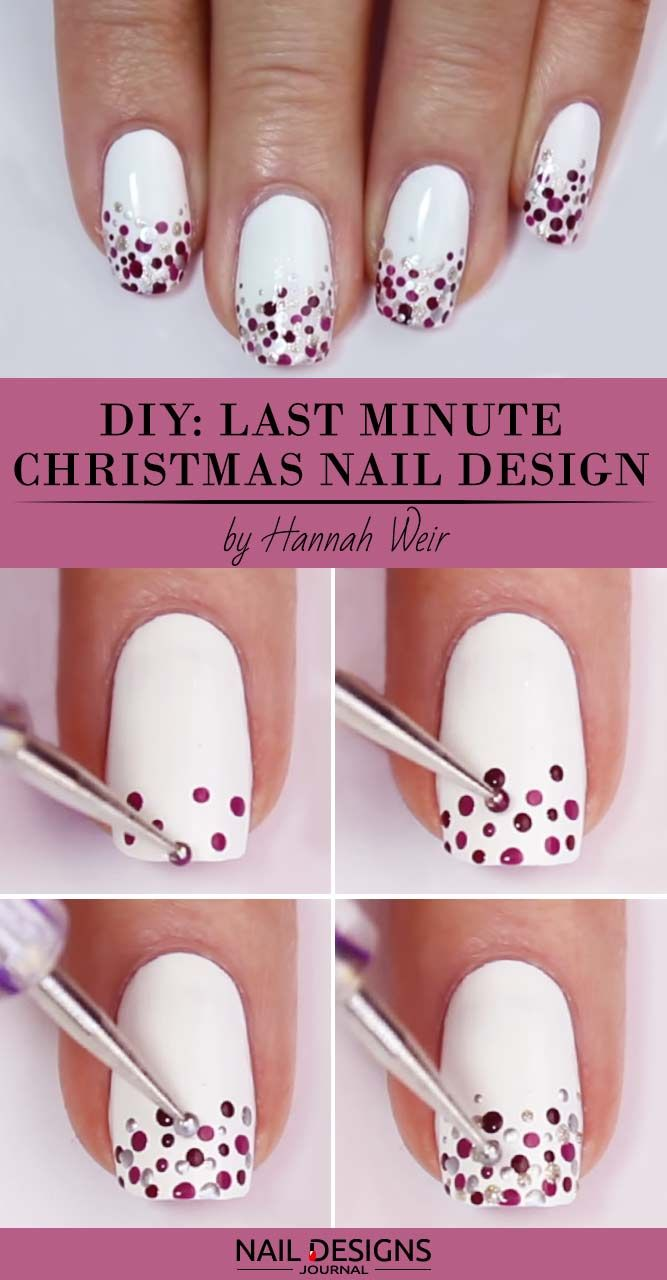 30+ Christmas Nail Art Tutorials To Master | NailD