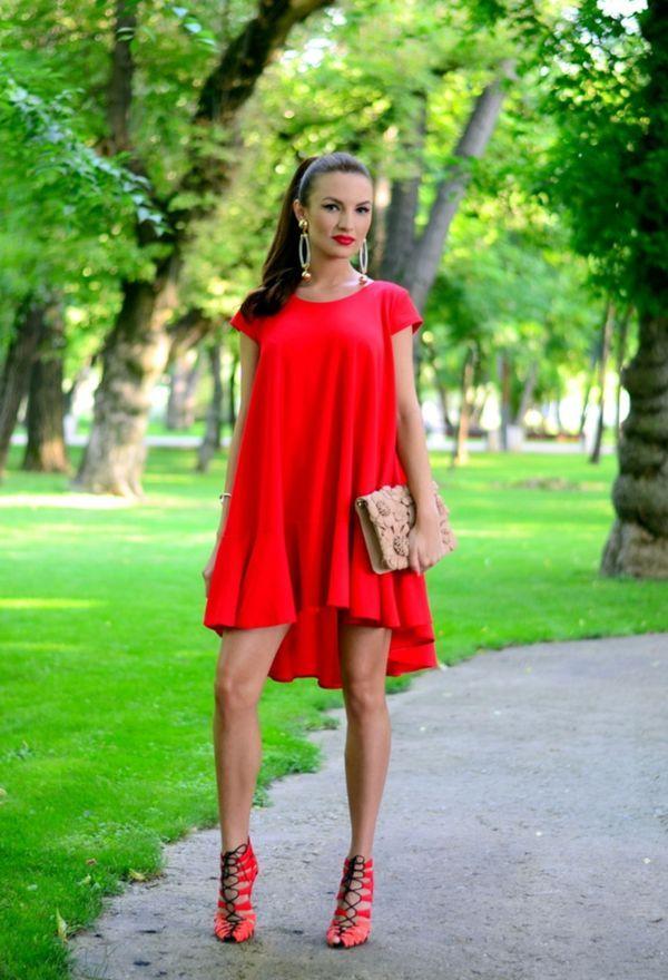 c29c1cadf6 Outfits con zapatos rojos de moda