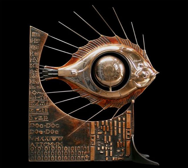 fish- check out the other sculptures on the site!