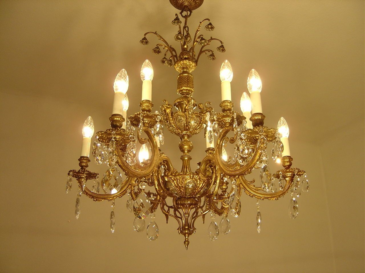 Diy Projects Crystal Prism World Crystal Chandelier Brass Chandelier Chandelier