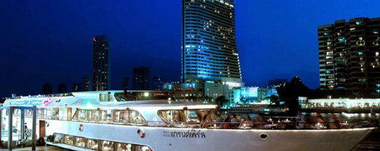 عشاء على العبارة جراند بيرل Dinner Cruise Thai Travel Cruise