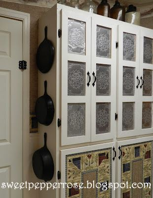 Perfect Punched Tin Panels Http://www.sweetpepperrose.blogspot.com/2012