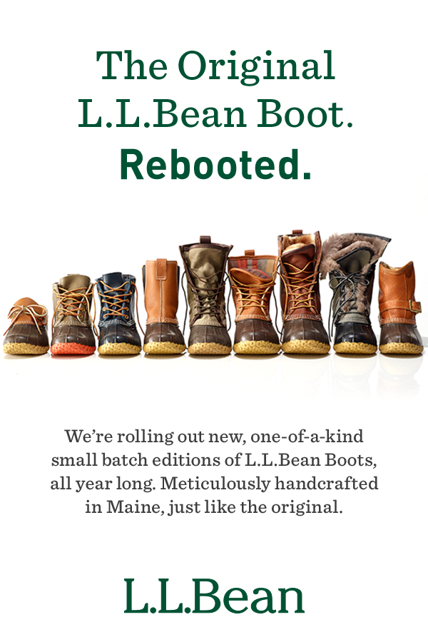 3ad4057973e4b9 Meticulously handcrafted in Maine. Just like the original. Discover our limited  edition small batch boots ...