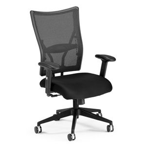this fabulous ergonomic talisto mesh chair w leather seat is great