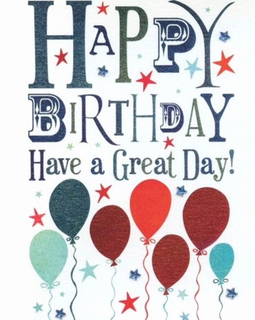 Pin by Shannon McClain on Birthday Greetings Happy