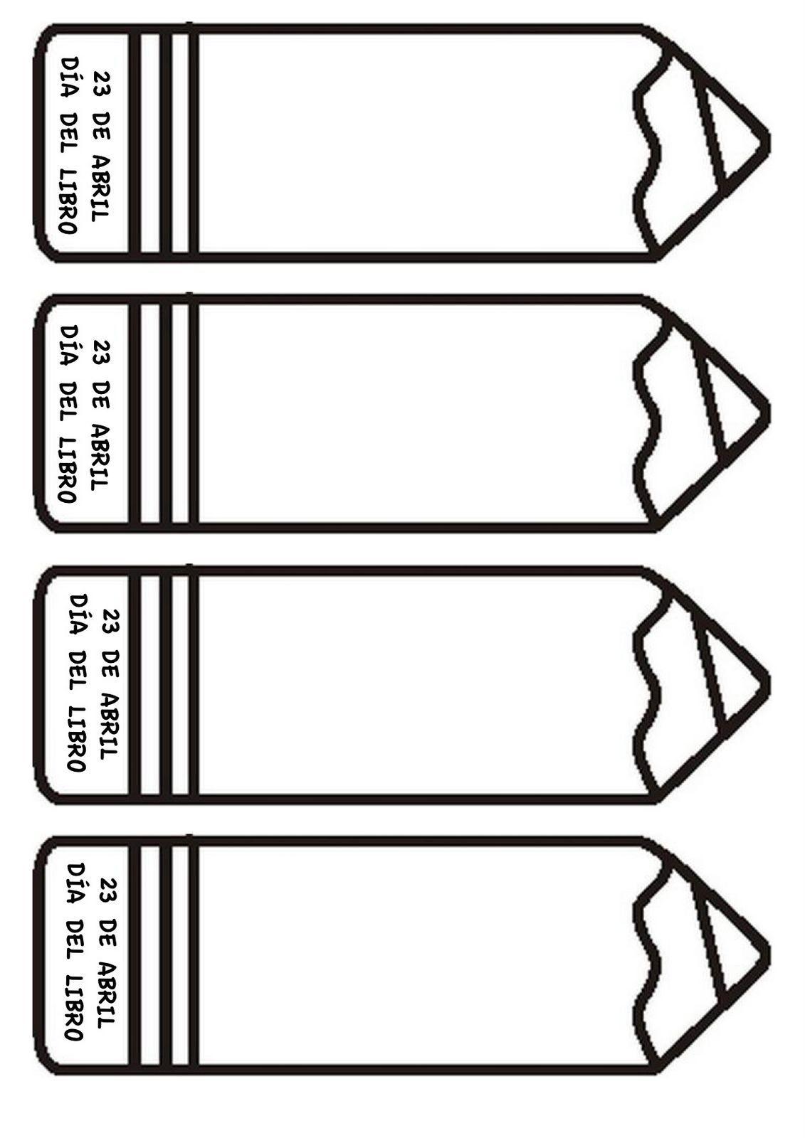 Marcapáginas para decorar-1 … | Pinteres…