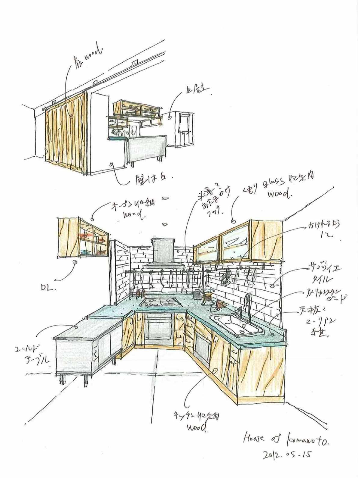 Kitchen,House of kumamoto