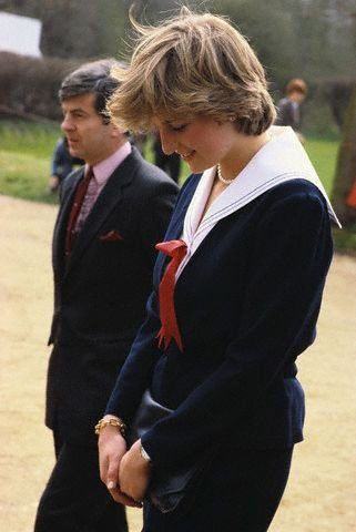 The  young and beautiful  Lady Diana Spencer