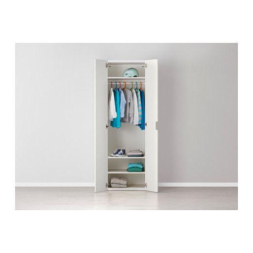 STUVA Kleiderschrank - weiß/weiß - IKEA | Stuva | Pinterest | White ...