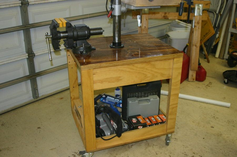 PDF Benchtop Drill Press Stand Plans Free | Woodworking