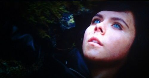 Paloma Kwiatkowski as Thalia Grace, the demi-god daughter ...