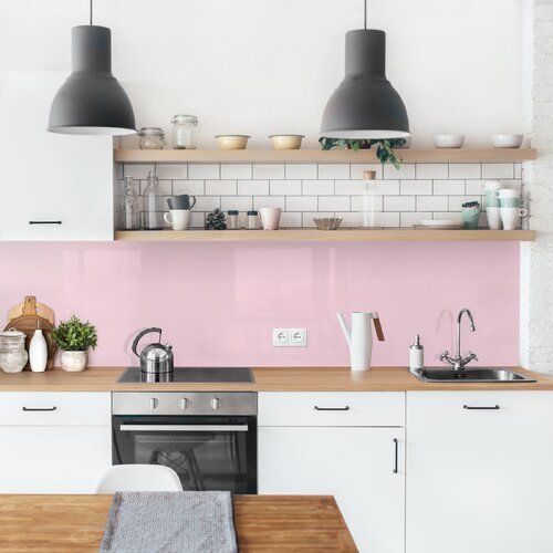 Photo of Ebern Designs PVC Spritzschutzpaneel Selbstklebend Azuela | Wayfair.de