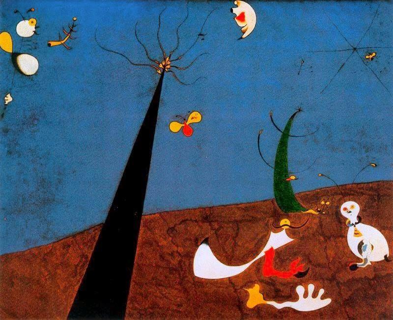 Surrealismo Abstracto Pintor Español Cuyas Obras Recogen Motivos Extraídos Del Reino De La Memoria Y El Subconscient Miro Paintings Joan Miro Joan Miró I Ferrà