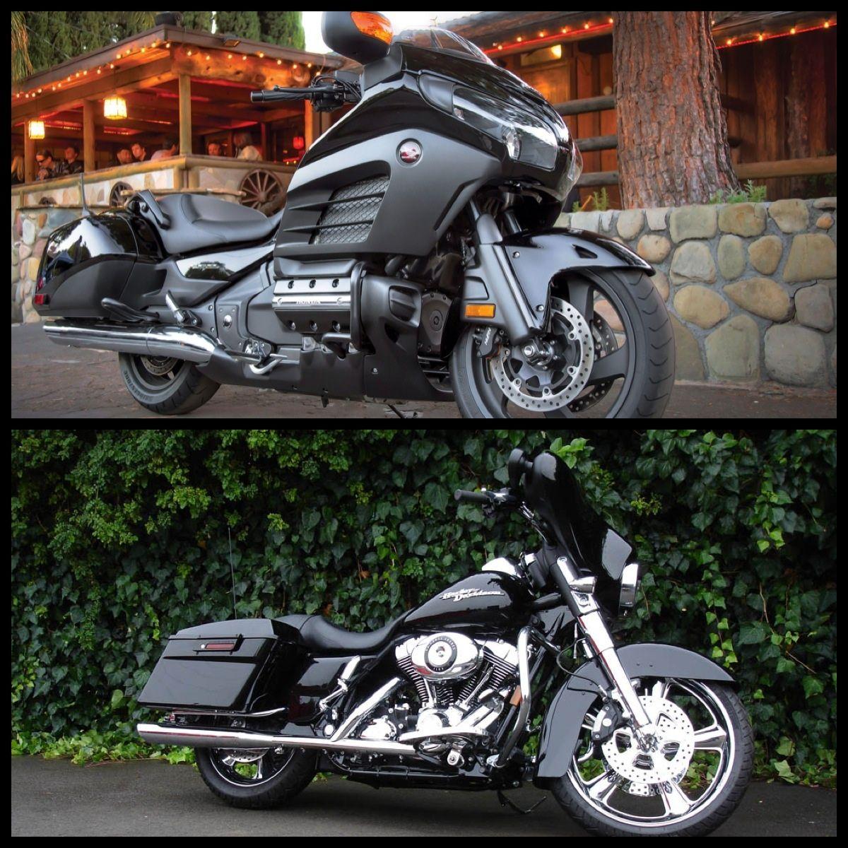 Honda F6b Comparison With Harley Davidson Bagger