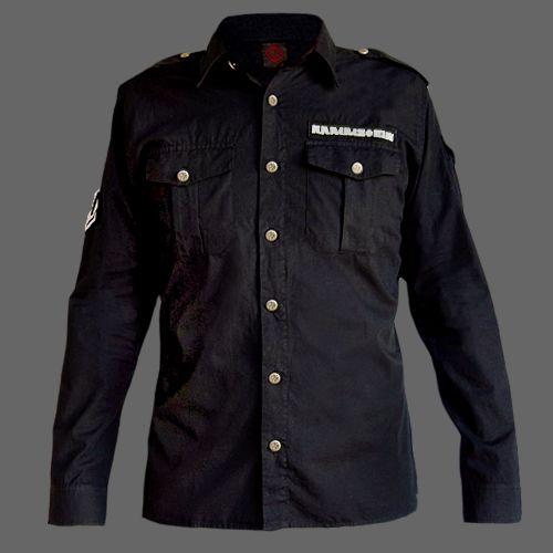 Rammstein Long Sleeve Shirt | Band shirts | Pinterest