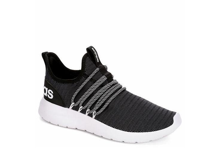 Adidas Mens Lite Racer Adapt Sneaker  Black  Gift Ideas