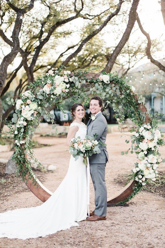 Romanticly Sun Kissed Garden Wedding Ideas In Texas ...
