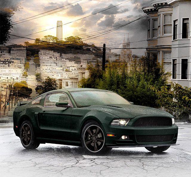 2013 Bullitt Mustang Final Concept Mustang Bullitt Ford Mustang Bullitt Mustang
