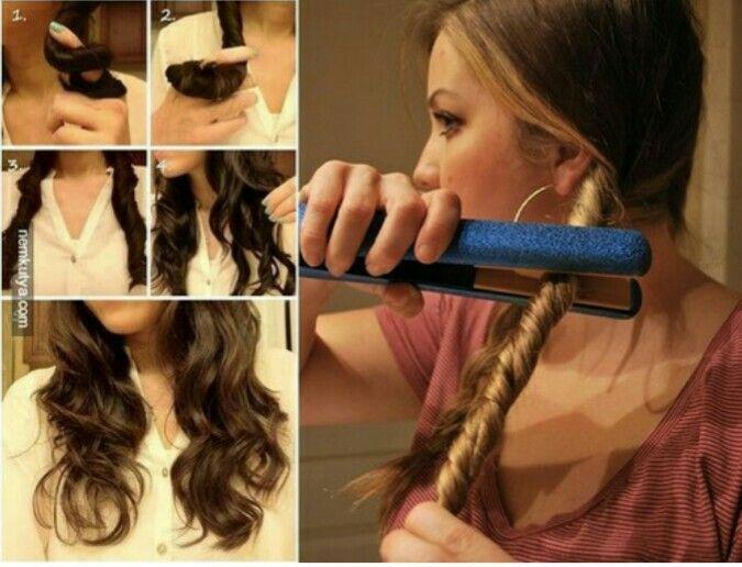 Como Ondular El Pelo Facil Y Rapido Peinados Hairstyles