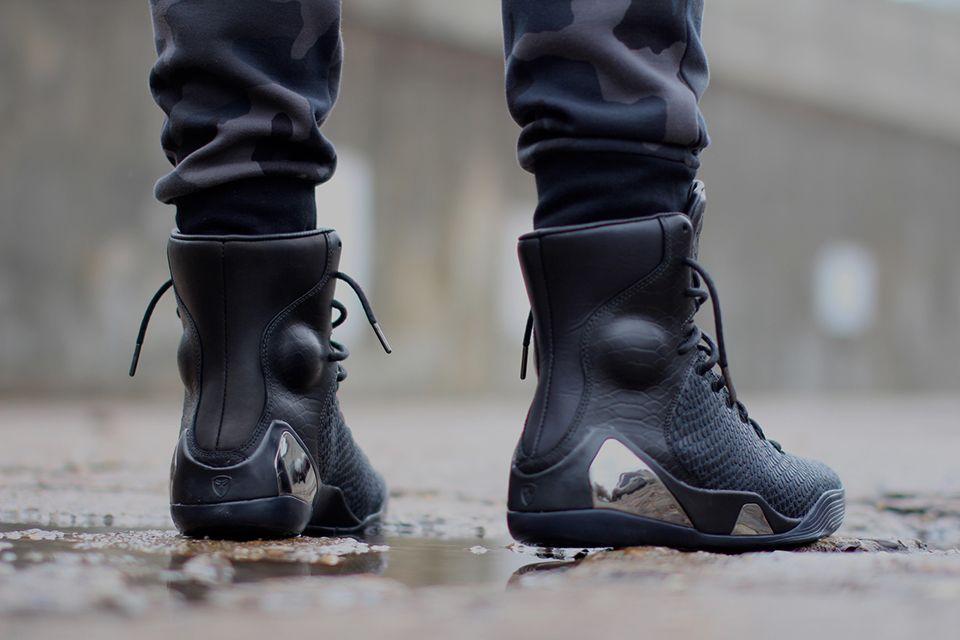 864bbc8bbc00 Nike Kobe 9 KRM EXT Black Mamba 5