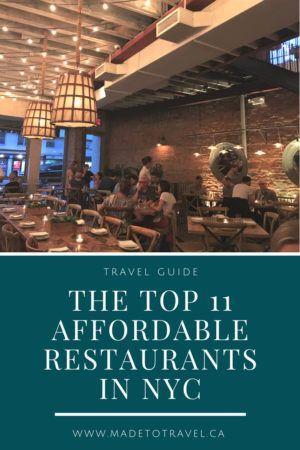 The 11 Best Restaurants In Nyc Nyc Restaurants Fun